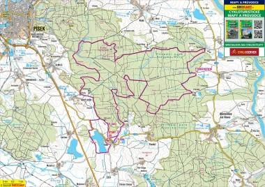 mapa trati 2013